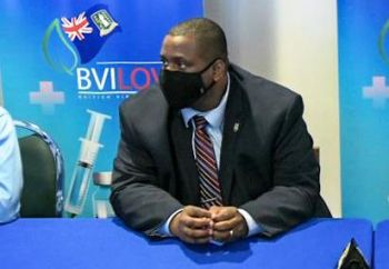 In the Virgin Islands, the Government of Premier and Minister of Finance Hon Andrew A. Fahie (R1), while expressing the need for persons to become vaccinated against COVID-19 has repeatedly said mandatory vaccination is not an option being considered. Photo: VINO/File