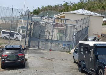 Word just reaching our newsroom from sources at Her Majesty's Prison in Balsam Ghut, on the main island of Tortola, is that at least two persons have been taken to Dr D. Orlando Smith Hospital following a stabbing incident at the prison. Photo: VINO/File