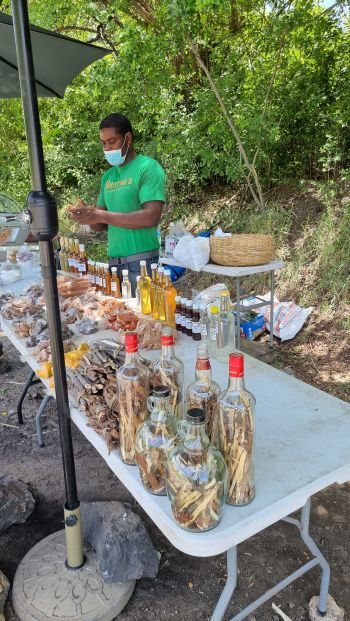 St Lucia is essentially a very lush rural country, with pockets of settlements spread around its coastal regions. With Agriculture as their traditional economy, one can find all sorts of fresh organic foods selling on the roadsides and markets. Photo: Provided