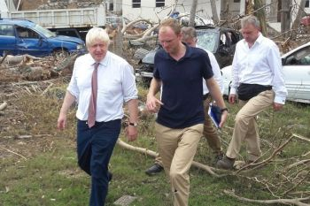 The 'double standards' Conservative Party is led by no other than Uk Prime Minister Mr Alexander Boris de Pfeffel Johnson, left, who himself has been accused of unethical behaviour, cronyism, and alleged mishandling of the COVID-19 pandemic that has caused thousands of Britons to lose their lives. Photo: Facebook/File