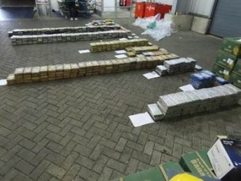 The National Crime Agency (NCA) said the seizure of around 2.3 tonnes of the Class A drug is believed to be one of the largest ever in the UK. Photo: PA