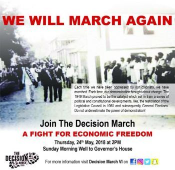 In reaction to the UK's decision, a group of individuals have decided to put together a march in an effort to send a message to the UK government, while Premier Smith expressed that he is in support of the march. Photo: Facebook