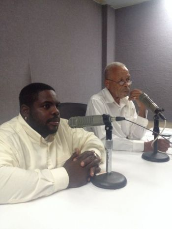 Co-host Rajah A. Smith said he felt it was time for limited gambling to be introduced in the VI and noted that while gambling was legal in the Bahamas, it was prohibited for locals to do so. Photo: VINO/File