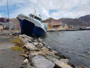 The monster Hurricane Irma of September 6, 2017, left four dead and over 3 billion US Dollars in damages in the Virgin Islands. Photo: VINO/File.