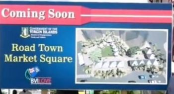 The Road Town Market Square is expected to be transformed into a modern facility with 16 kiosks, a gazebo, green spaces, restrooms, a bus depot and local monumental artifacts. Photo: Facebook