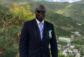 """During the Tuesday, February 19, 2019, edition of his radio show which was a combination of """"Honestly Speaking"""" and 'VIP Radio' on ZBVI 780am radio, the script was flipped when political aspirant and former Permanent Secretary, Mr Julian Willock grilled Skelton-Cline on the topic, in what was considered a very unorthodox episode of the show. Photo: VINO/File"""