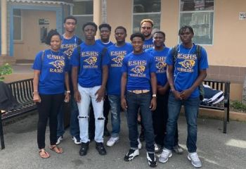 The Senior Rams Basketball Team represented the territory at two major international tournaments in both the USA and the regional Caribbean territory of The Bahamas. Photo: Team of Reporters