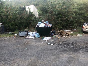Indiscriminate dumping continues to be an area of concern for the Government of the Virgin Islands. Photo: Team of Reporters
