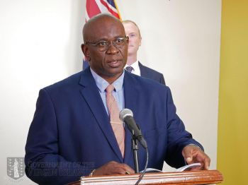Minister for Health and Social Development Honourable Carvin Malone (AL) said Cabinet decided that members of the public should stay at home and work remotely where possible, and persons should avoid loitering at all costs during non-curfew hours. Photo: GIS/File.