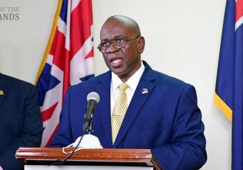 Minister for Health and Social Development Honourable Carvin Malone (AL) gave an update on active COVID-19 cases in the territory last evening, September 14, 2021, during his appearance on the 'Honestly Speaking' radio show with Claude O. Skelton Cline on ZBVI 780 AM. Photo: GIS/File