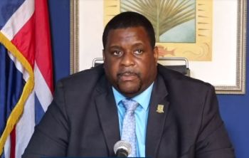 Opposition Leader, Hon Marlon A. Penn (R8) says that contrary to what Premier Andrew A. Fahie (R1), in photo, has said, the Government has not consulted enough with the people regarding the best possible way to reopen the territory to international visitors. Photo: facebook/File
