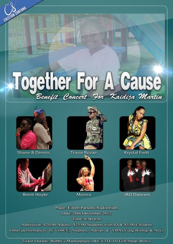 The concert for kaidija Martin has been dubbed