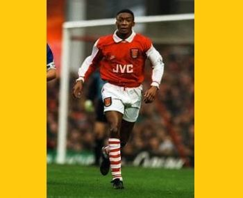 Mr Christopher M. Kiwomya played for top-flight club Arsenal in England and also plied his trade in France and Malaysia during his professional playing days. Photo: footnostalgie.com