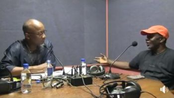 Mr John I. Cline, right, appeared as a guest on Honestly Speaking with Mr Claude O. Skelton-Cline, left, on ZBVI 780 AM on February 20, 2018. Photo: Facebook