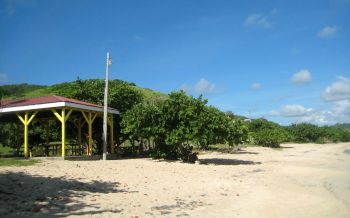 In an attempt at curbing the COVID-19 virus and discouraging some residents from ignoring the stay-at-home order, all beaches in the US Virgin Islands are closed effective immediately, Governor Albert A. Bryan Jr announced Monday, April 6, 2020. Photo: VIC