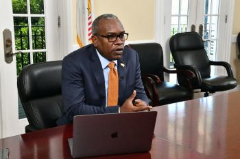 Governor of the US Virgin Islands Mr Albert A. Bryan Jr said the USVI is doing all it can to assist the VI during its COVID-19 challenges. Photo: USVI Gov't