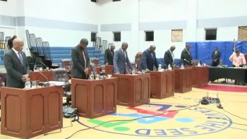 Legislators debated the Thirteenth Sitting of the Second Session of the Fourth House of Assembly (HoA) of the Virgin Islands. Photo: YouTube