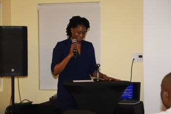 Ms Nelcia St Jean is the Interim-President of the Provisional Rotary Club of Central Tortola. Photo: VINO/File