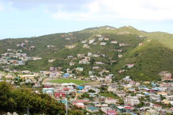 Premier Andrew A. Fahie (R1) has said the people of the Virgin Islands 'must be able to own their own homes' and the stamp duty waiver will help this dream become a reality. Photo: VINO/File