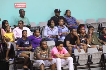 Basketball fans at previous games in the BVIBF National 'District' League at Multi-Purpose Sports Complex. Photo: VINO/File