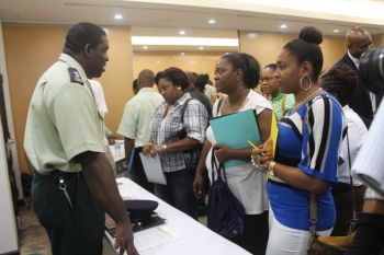 Her Majesty's Prison Job Fair held at Maria's by the Sea on November 1, 2013. Photo: VINO