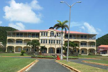 H. Lavity Stoutt Community College (HLSCC) was established under a Virgin Islands Party (VIP) administration. Photo: VINO