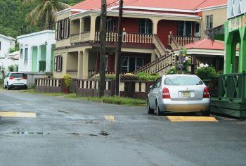 Speed bumps in Carrot Bay. Photo: VINO