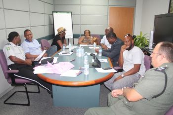 Members of FTM met with some of their targeted facilitators last evening February 3, 2015 to discuss some of the topics that are to be covered during the upcoming forum for young men. Photo: VINO