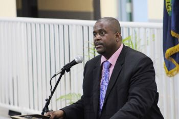 Back in August 2020, Premier and Minister of Finance, Hon Andrew A. Fahie (R1) announced that Customs and Immigration officers will be working from marine platforms in shifts so that there will be a more intense 24-hour surveillance of the borders. Photo: VINO/File