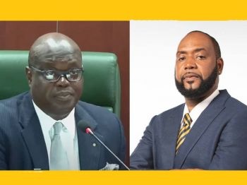 The Eastern Caribbean Supreme Court (ECSC) of the Virgins Islands (VI) in July 2021, had ruled that House of Assembly Speaker, Hon Julian Willock, and Deputy Speaker, Hon Neville A. Smith (AL) has standing in the case against 3 CoI lawyers accused of illegally practicing law in the VI. Photo: HoA/Youtube/Facebook