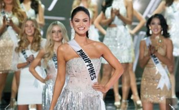 After first being announced as the First Runner-Up by host and comedian Broderick Stephen 'Steve' Harvey, Miss Philippines Pia Alonzo Wurtzbach was announced the winner of Miss Universe 2015 moments ago, December 20, 2015 at Las Vegas' Planet Hollywood Resort & Casino. Photo: www.ibtimes.com