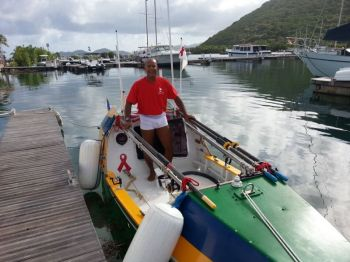 Mooney was robbed by pirates off Haiti in October and his boat damaged to the point where it must undergo extensive repairs following which he will depart for New York. Photo: VINO/File