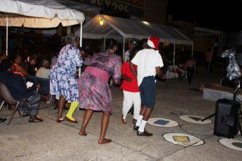 Members of the Parents Teachers Association (PTA) of Ebenezer Thomas Primary School performing a skit. Photo: VINO