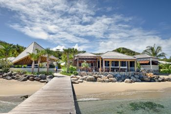 Little Dix Bay Resort on Virgin Gorda has been named #1 in the 'Top 40 Resorts in the Caribbean Islands' category by Condé Nast Traveler's 2021 Readers' Choice Awards, also earning the #14 spot in the coveted 'Best Resorts in the World' category. Photo: Rosewood Little Dix Bay