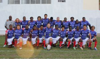 The victorious BVI rugby team. Photo: Provided