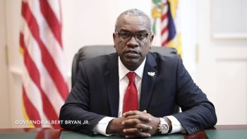 US Virgin Islands' Governor Albert A. Bryan Jr said while most have done 'good' as a community in following the Department of Health and CDC guidance to help contain the spread of the virus, there are still some who are not taking it seriously enough. Photo: vi.gov