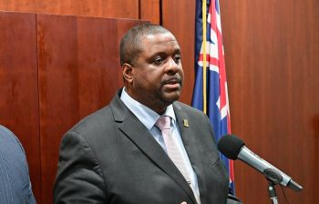 On March 25, 2020, a total curfew was announced by Premier and Minister of Finance, Hon Andrew A. Fahie (R1) after the Territory recorded its first two cases of COVID-19, the Premier had earlier closed the territory's borders. Photo: GIS/File