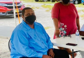 Premier Andrew A. Fahie has laud the success of initiative, specifically day two of vaccinations as as 'encouraging' to warrant more days. Photo: Team of Reporters