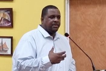 Virgin Islands (VI) Premier and Minister of Finance, Hon Andrew A. Fahie (R1) says his government is working to bring improvements to the BVI Traveler Gateway Portal, a website essential for travelers coming to the VI. Photo: Facebook