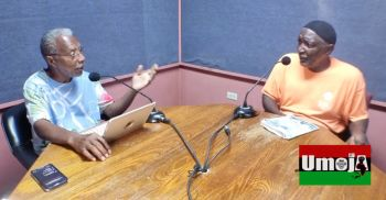 Mr Cromwell Smith made the comments during the Monday, September 8, 2021, edition of the Umoja Show alongside guest Abdul Shabazz while discussing VI literature and its significance to preserving history. Photo: Facebook