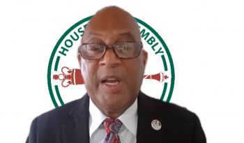 Minister for Natural Resources, Labour and Immigration, Hon Vincent O. Wheatley (R9) has called out disrespectful behaviour amongst Virgin Islanders expecially online, which he said has bothered him for months. Photo: HoA/Youtube