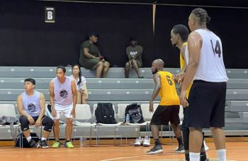 Basketball action in the BVI Basketball Federation (BVIBF) District League 2021 Playoff leagues returns this afternoon Saturday, September 11, 2021, at the Multi-Purpose Sports Complex in Road Town, Tortola for the first round. Photo: Team of Reporters