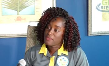 Ms Henrietta Alexander appeared during a clip of GIS Report on the topic of vector-borne illnesses in the territory reminding that the mosquitoes have not gone anywhere. Photo: GIS/Facebook