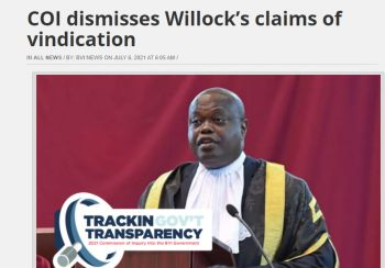 A local online news site reports that Commissioner Gary R. Hickinbottom had rejected Hon Julian Willock's claims of vindication, even while denying him an opportunity to present new evidence. Photo: VINO