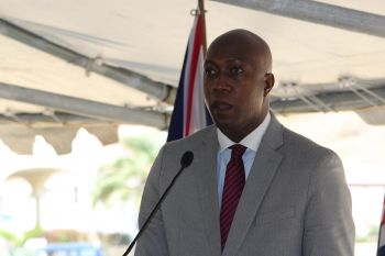 Minister for Education and Culture Hon Myron V. Walwyn (AL) is reportedly under investigation for his controversial high school wall project. This has been ordered by Governor John S. Duncan OBE. Photo: VINO/File