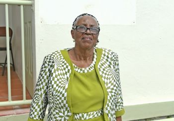 The Anegada Pageant Committee has honoured retired nurse Mrs Romalia Smith for the work she continues to do with the young people of Anegada. Photo: GIS/File