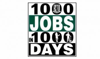 Premier Andrew A. Fahie said the 1000 jobs in 1000 days programme is not just to get people hired, rather, so that they be trained to make better contributions to the business sector and to the wider society. Photo: Facebook