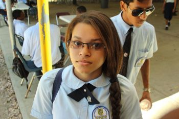 This news site was unable to reached Johanna Marrugo who is among the top three students at this year's CSEC Examinations. Photo: Facebook