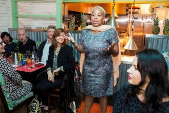 Director of Tourism, Mrs Sharon Flax-Brutus who was in London for the event expressed that she thought it would have been a good idea to showcase the VI's cuisines in one of London's popular restaurant. Photo: GIS