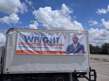 Virgin Islander Morey Wright Jr aka 'Moe' may have been defeated in the August Democratic Primary in August 2020, in his bid to reach the Florida House of Representatives but would have been pleased to see that his winning Democrat counterpart went on to defeat her Republican challenger in the general elections on November 3, 2020. Photo: Facebook